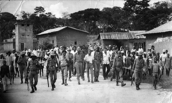 Los corresponsales extranjeros acreditados en la capital angolana se olían que algo grande estaba por pasar. Foto: Archivo del autor.