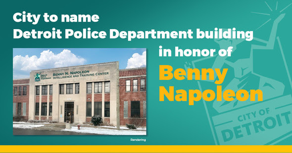 DPD Facility Named After Benny Napoleon 4.28.21