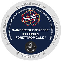 Timothy's Rainforest Espresso Keurig®  K-Cup® pods