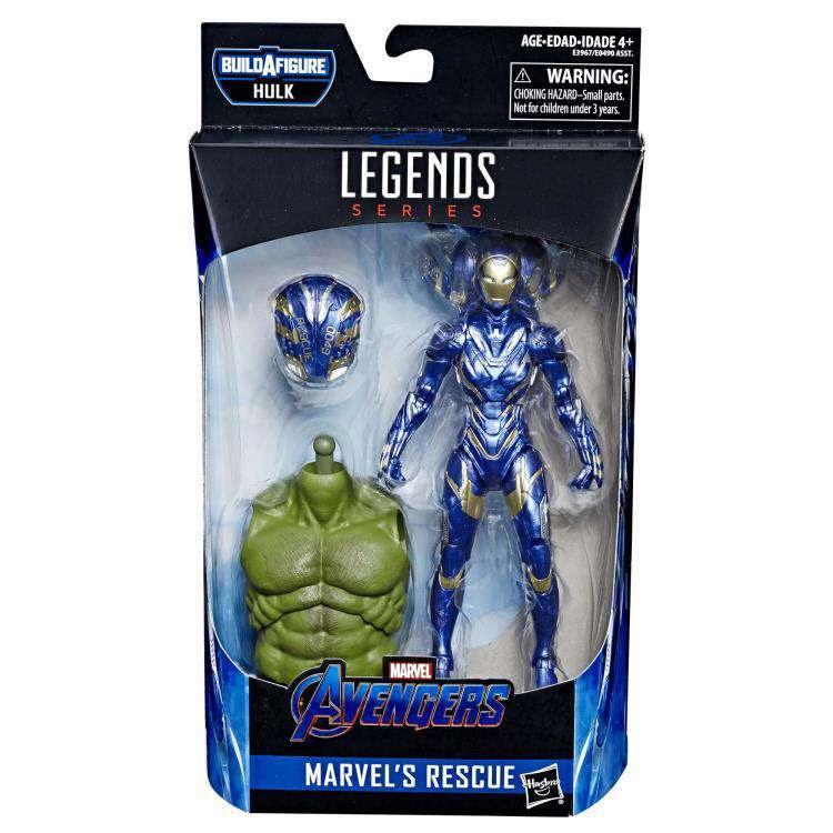 Image of Avengers: Endgame Marvel Legends Rescue (Hulk BAF) - Wave 2