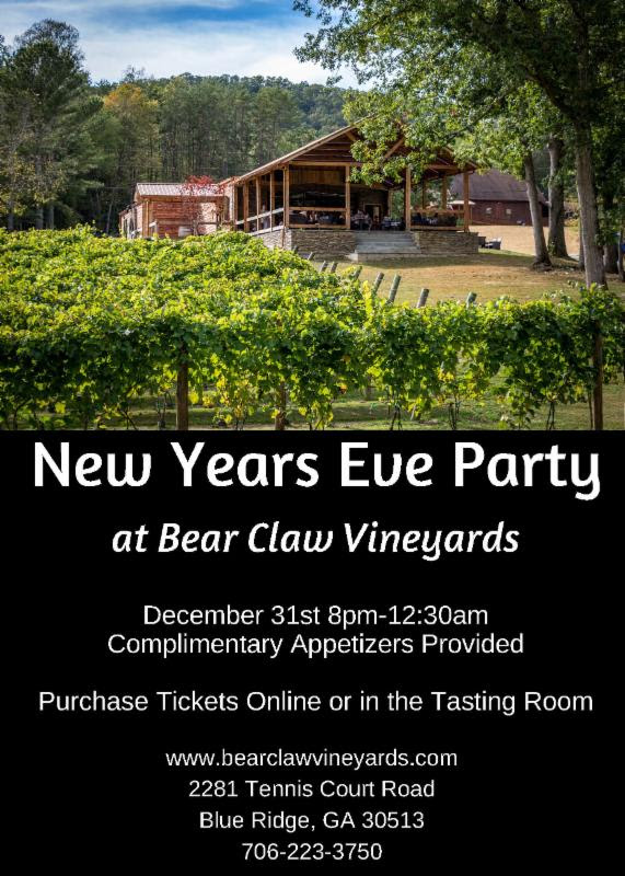 New Year_s Eve Party at Bear Claw