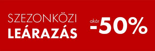 SZEZONKÖZI LEÁRAZÁS - FashionDays