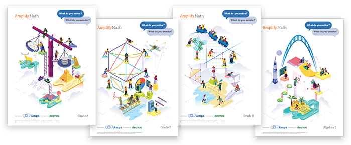 Amplify Math classroom posters