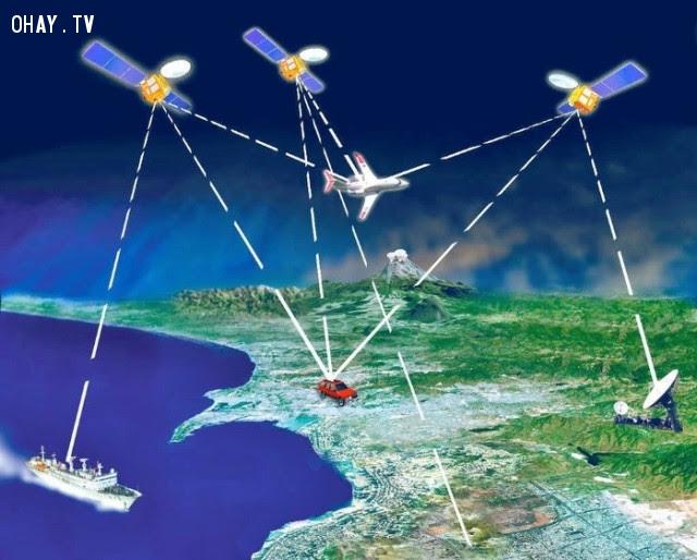 2. GPS không miễn phí như nhiều người vẫn tưởng,Những điều thú vị trong cuộc sống,có thể bạn chưa biết