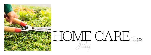 July Home Care Tips from Dave & JoAnne