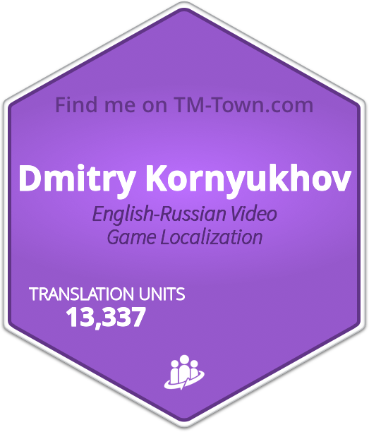 Dmitry Kornyukhov TM-Town Profile