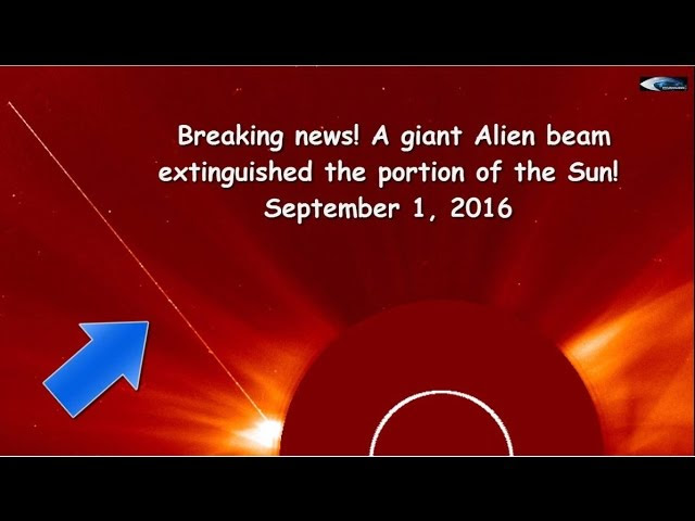 Breaking news! A giant beam extinguished the portion of the Sun! September 1, 2016  Sddefault