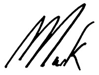 signed Mark