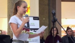 """Germany: Teen girl called """"Nazi"""" for reading poem about migrant violence, her house vandalized"""