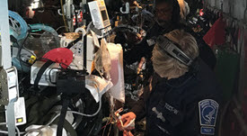 USPHS Commission Corp officer receives training in aeromedical evaluation procedures