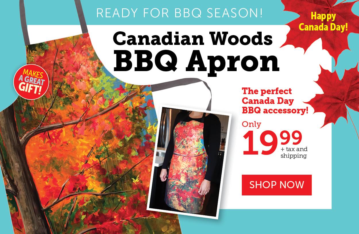 Canadian Woods Apron