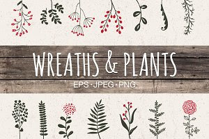 Wreaths & plants