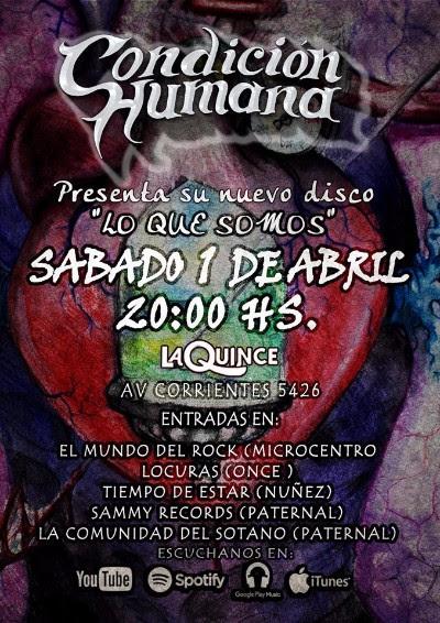 Condición Humana - Flyer show