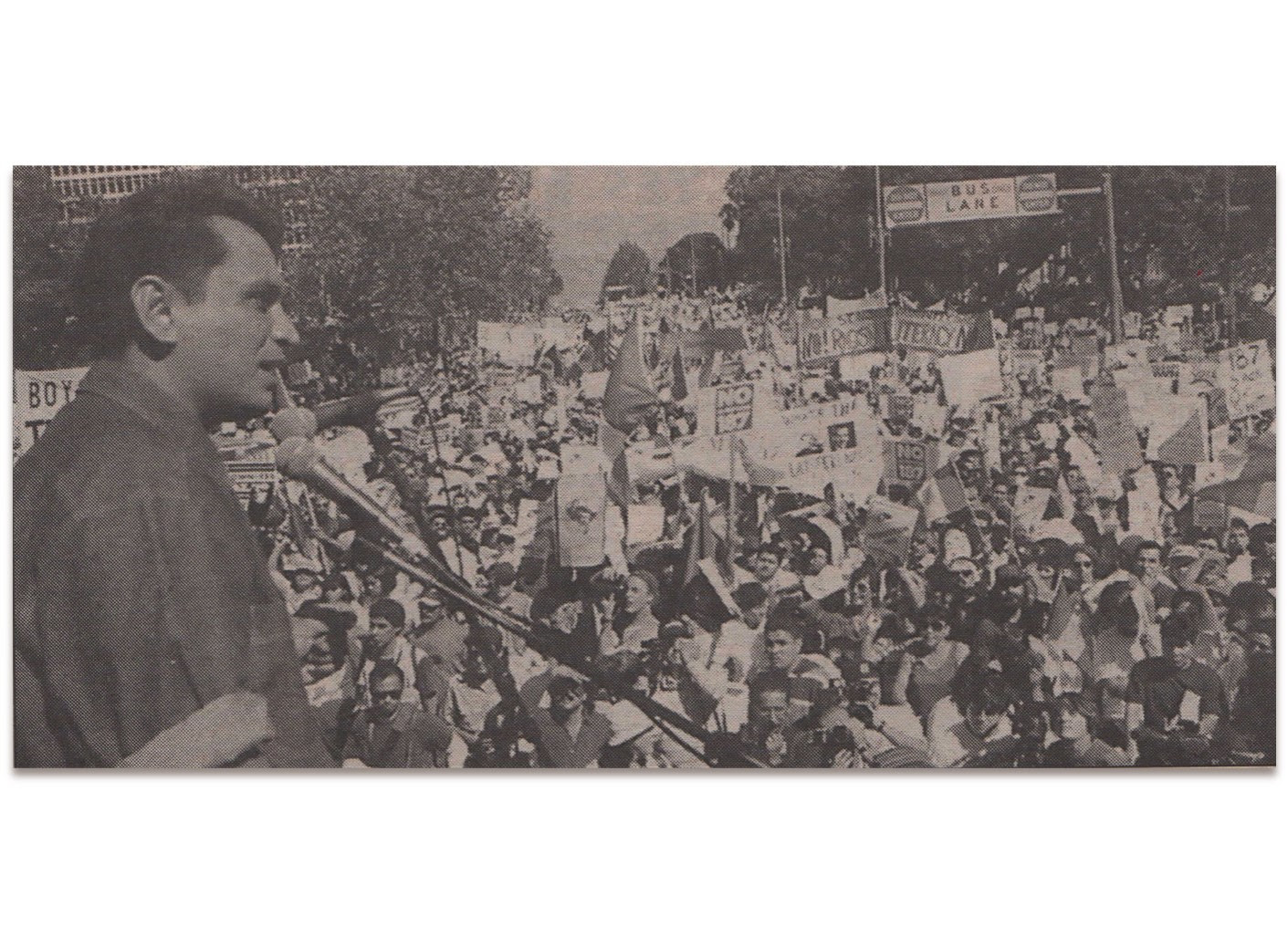 Gil Cedillo Prop 187 Rally 1994