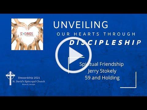 Mark of Discipleship - Spiritual Friendship - 59 and Holding