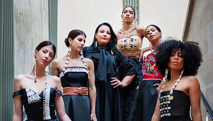 Meet Native Fashion Designer Norma Baker-Flying Horse, Creator of Red Berry Woman image