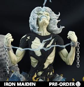 Iron Maiden Live After Death Eddie 1/10 Scale Statue