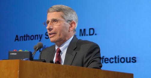 Dr. Fauci speaking