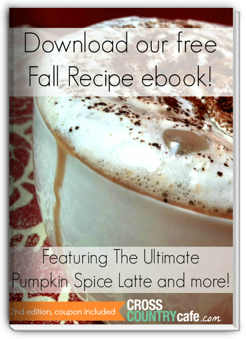Free Fall Keurig K-cup Recipe Ebook, 2nd edition, coupon included!