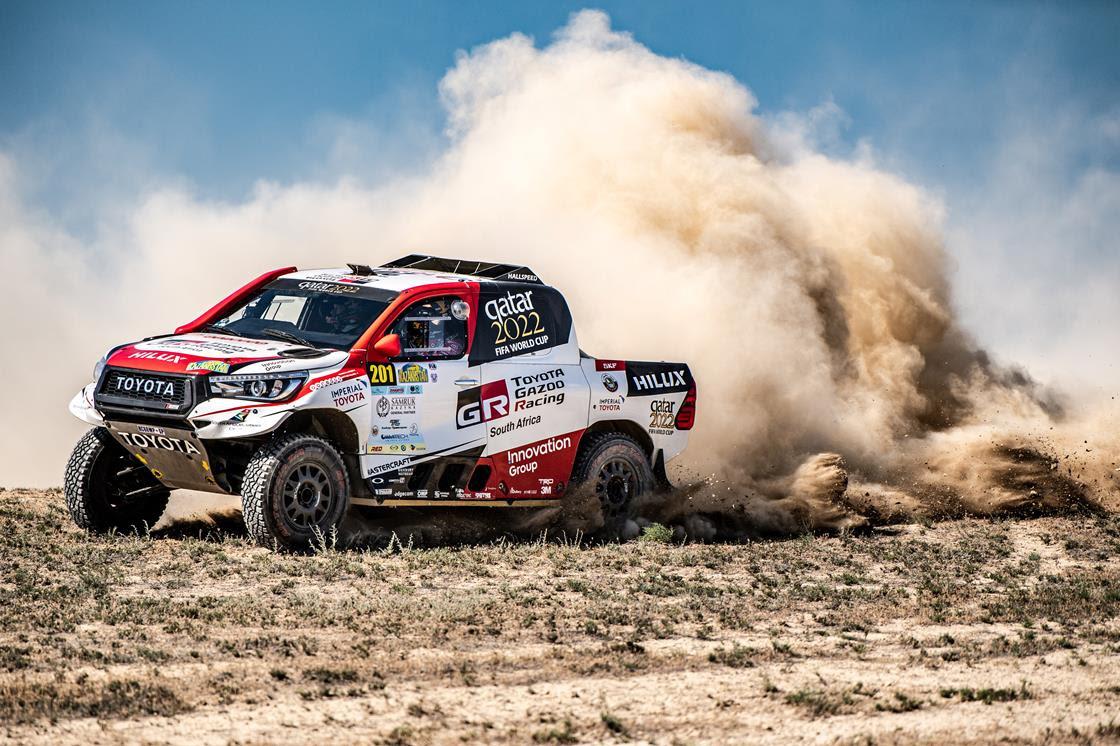 Nasser Al-Attiyah is the man to beat in the deserts of Kazakhstan