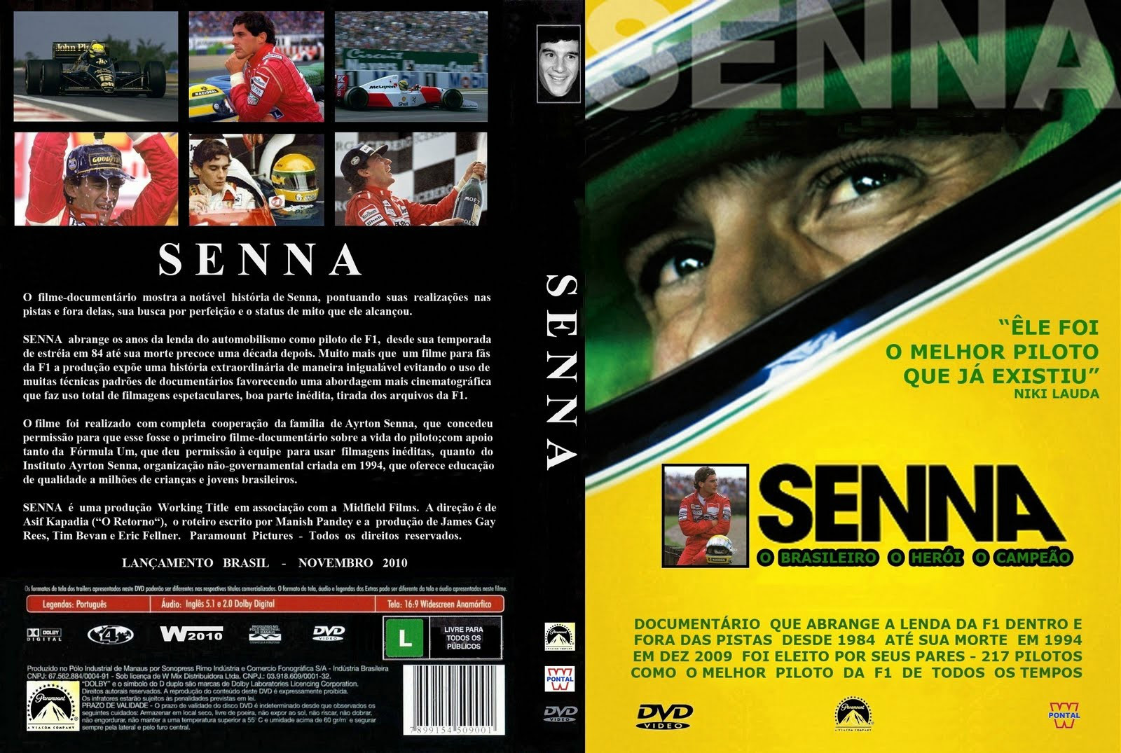 Ayrton Senna Do Brasil Torrent – BluRay Rip 720p Nacional (2014)