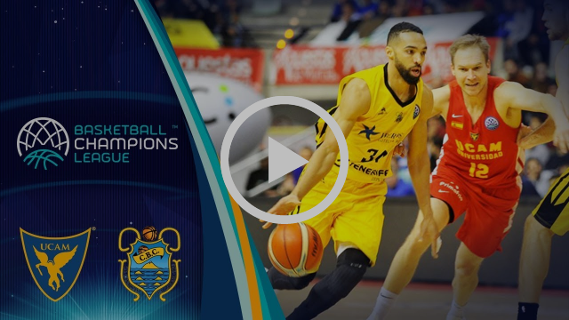 UCAM Murcia v Iberostar Tenerife - Highlights - Round of 16 - Basketball Champions League 2017-18