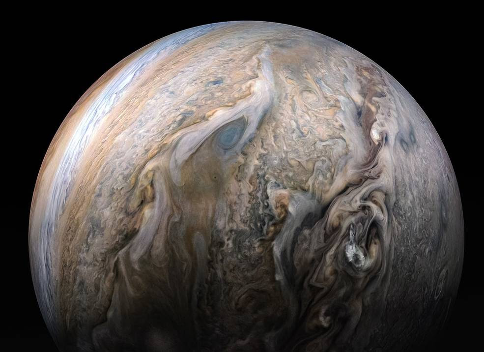 New findings from NASA's Juno mission at Jupiter will be presented Dec. 11 at a press conference during the AGU Meeting