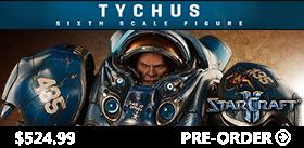 1/6 SCALE STARCRAFT II TYCHUS TERRAN SPACE MARINE