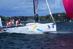 J/70 sailing Swedish league