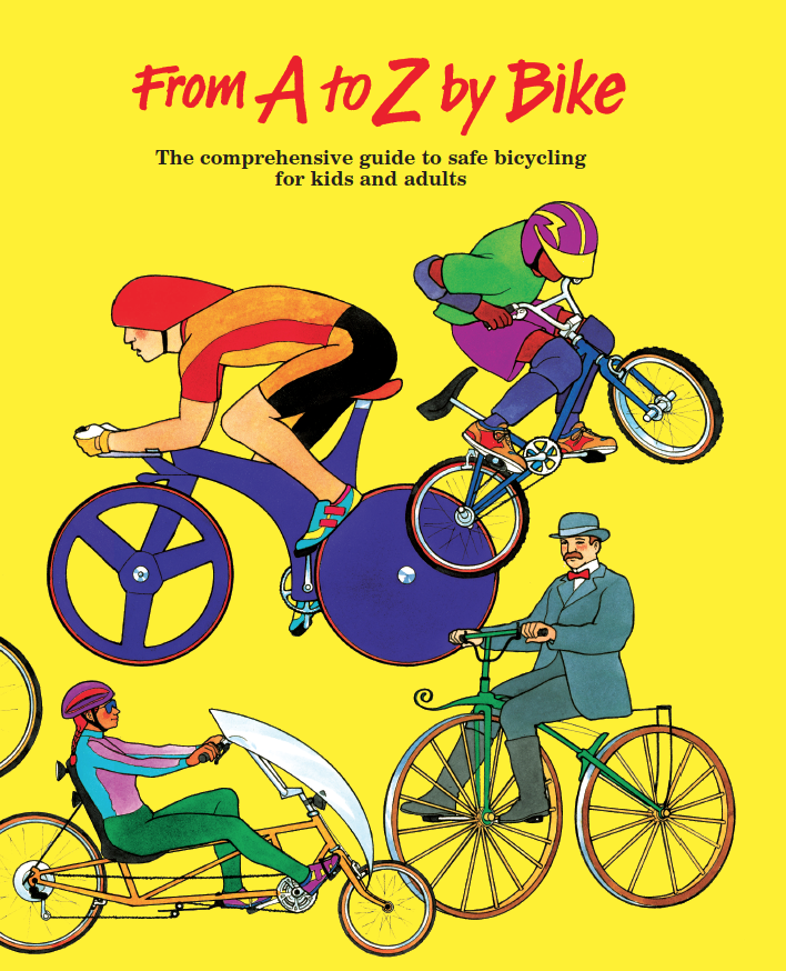 From A to Z by Bike cover