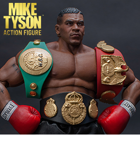 MIKE TYSON 1/12 SCALE COLLECTIBLE FIGURE