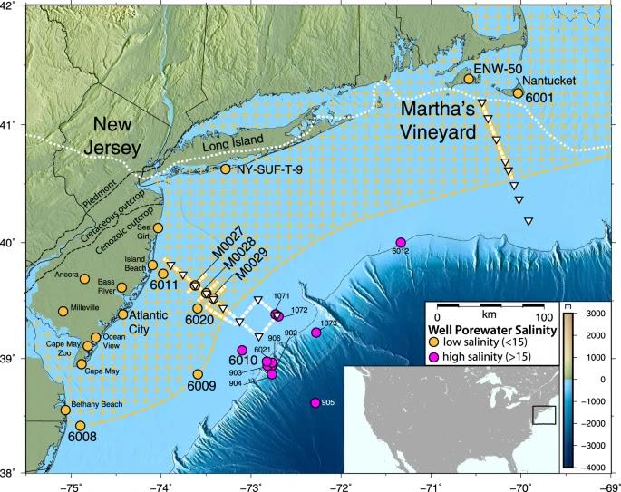 Huge Freshwater Aquifer Has Been Found under the Atlantic Ocean