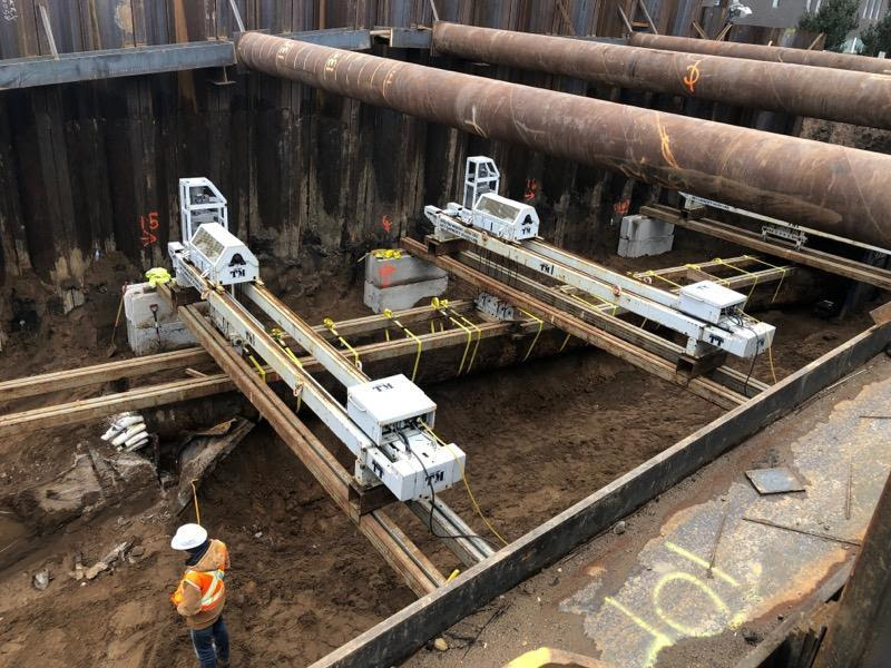 Weekly Construction Photo: CenturyLink Duct Bank Relocation on Glenwood Avenue in Minneapolis