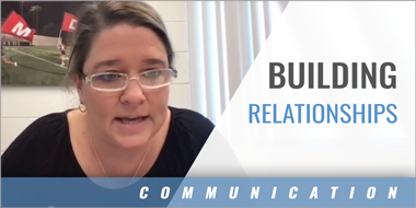 Building Relationships - Click to Watch Video