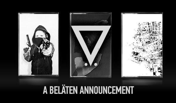 Beläten is proud to announce three new cassettes by Blitzkrieg Baby, Sebastian Melmoth, and L'Avenir