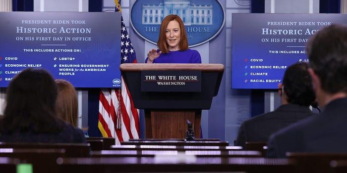 Biden's new press secretary is already floundering