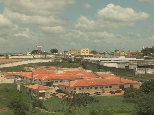 Complexo penitenciário de Pedrinhas (Foto: Reprodução/TV Mirante)