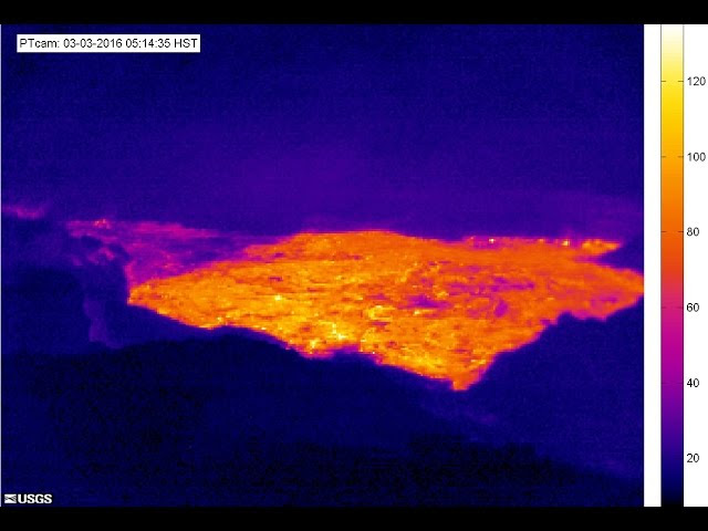 3/03/2016 -- New large lava flow in Hawaii at Pu'u O'o Volcano / Kilauea Complex  Sddefault