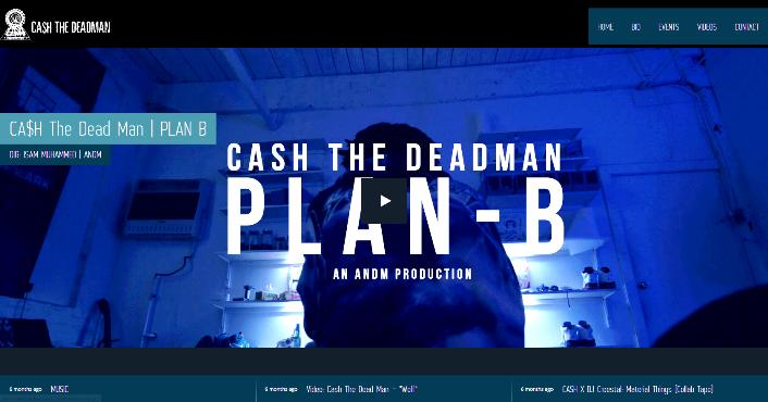 CashTheDeadman Site Sceen shot