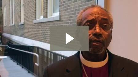 Presiding Bishop and Primate of The Episcopal Church releases video calling people to prayer in response to the violence in Paris, France.