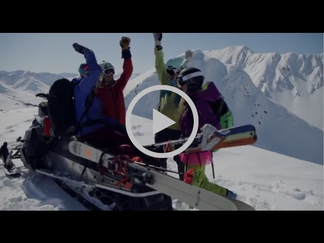 Pretty Faces - OFFICIAL TEASER -  all female SKI film