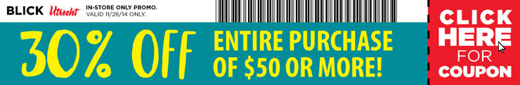 30% off Holiday Coupon