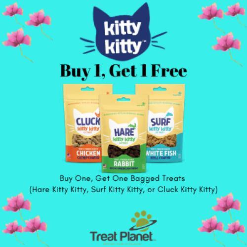Treat Planet Cat treats are BOGO