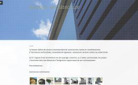 Le site de Desmet Architecture