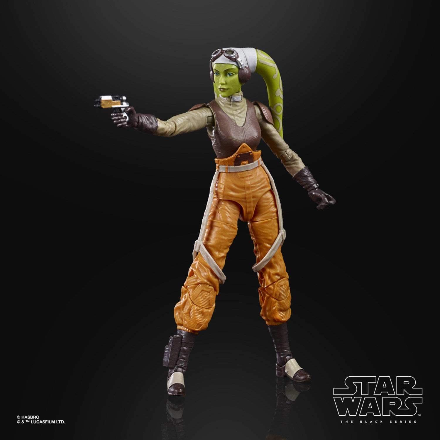 Image of Star Wars The Black Series Rebels Hera Syndulla 6-Inch Action Figure