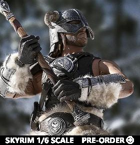 The Elder Scrolls V: Skyrim Dragonborn (Deluxe) 1/6 Scale Figure