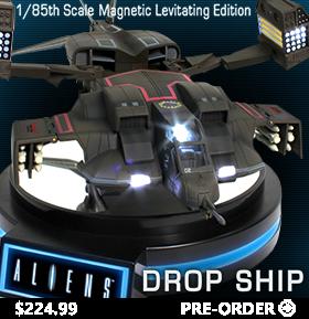 MAGNETIC LEVITATING ALIEN ML04 DROP SHIP