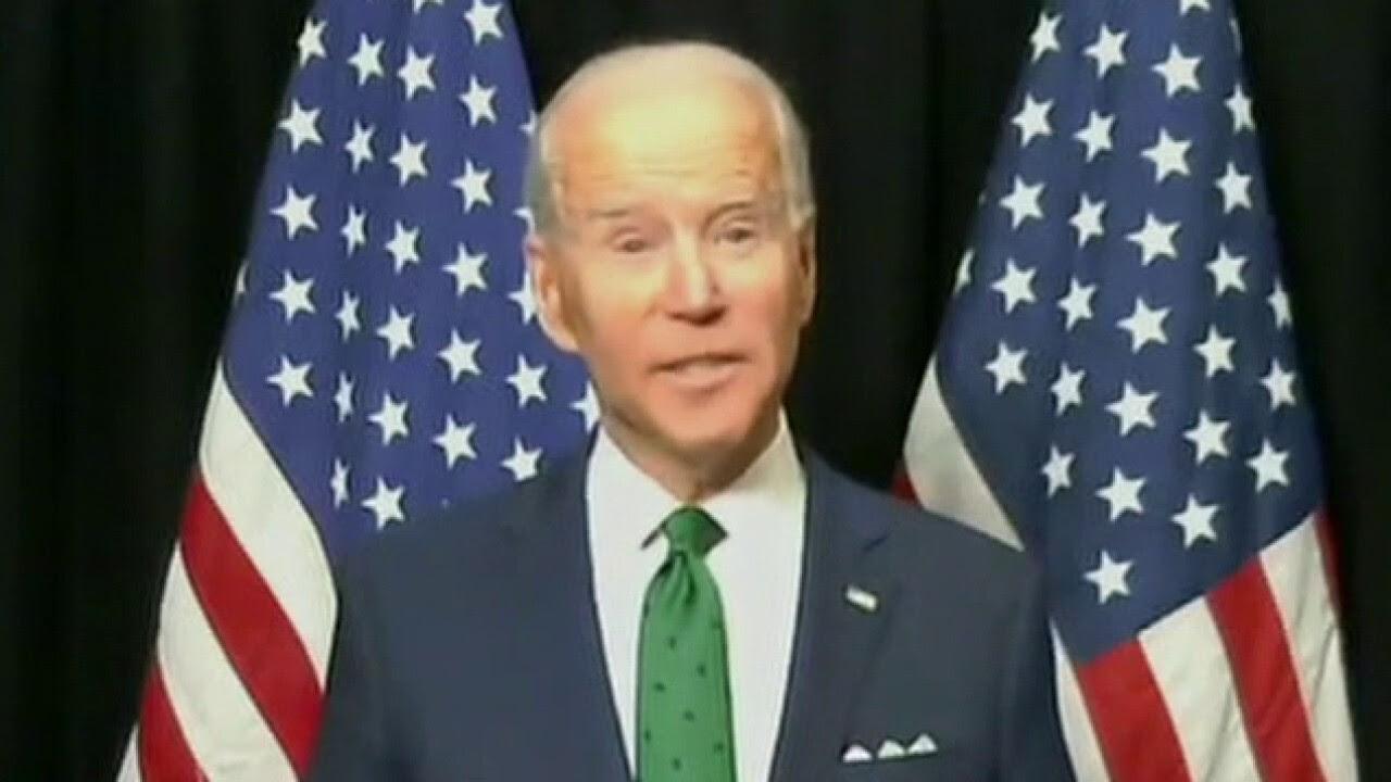 Biden on a recording