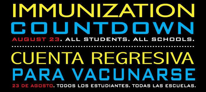 Immunization Countdown