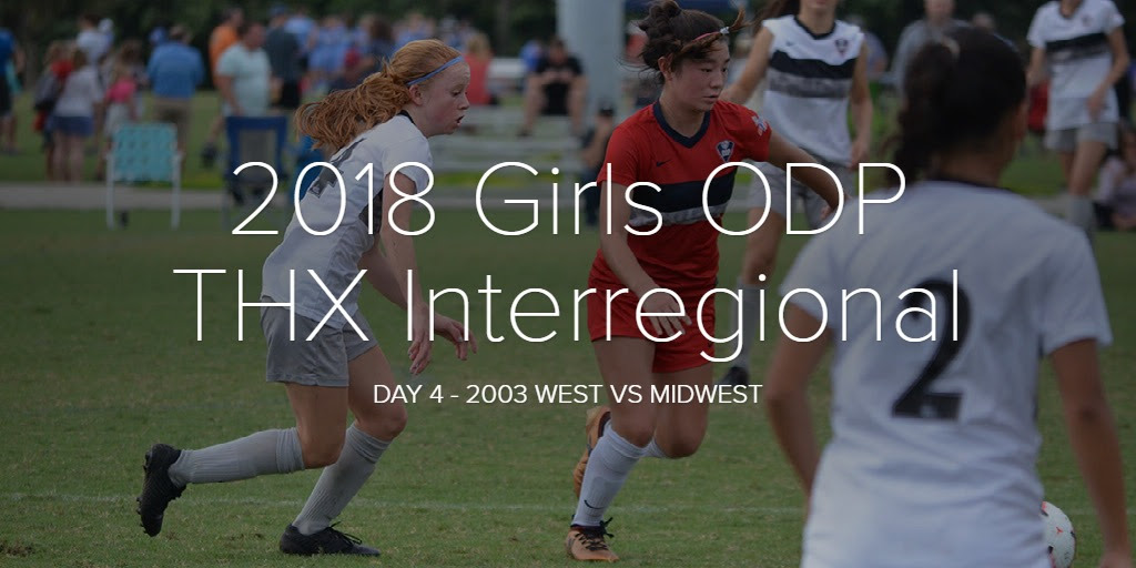 2018 Girls ODP THX Interregional